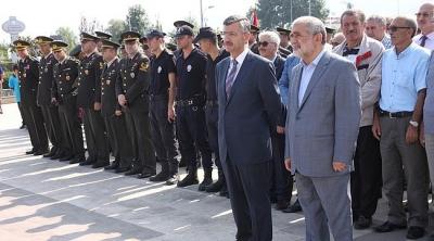 Gaziler Haftası Törenle Kutlandı