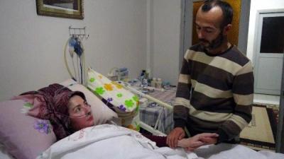 Hidrosefali Hastası Karısı İçin Yardım Bekliyor
