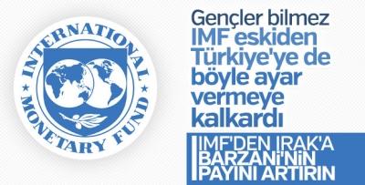 IMF, Irak'ın bütçesine yön vermeye çalışıyor