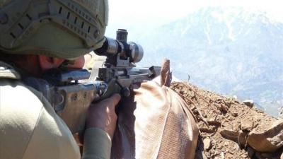 Irak'ın kuzeyine yapılan operasyonda 6 terörist öldürüldü