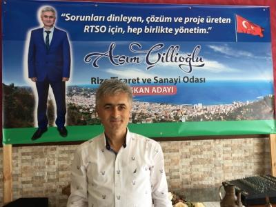 İş Adamı Asım Çillioğlu, RTSO Başkanlığına Adaylığını Açıkladı