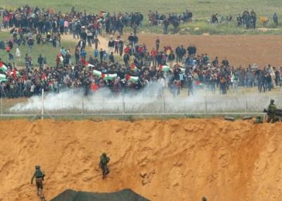 İsrail askerleri Filistinlilere saldırdı: 7 ölü, 500 yaralı
