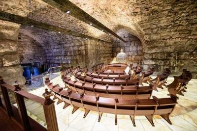 İsrail'in Aksa'nın altını oyarak yaptığı tapınak