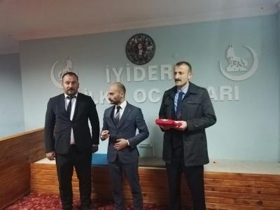 İYİDERE'DE NÖBET DEĞİŞİMİ