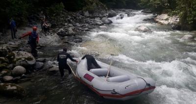 JAK Timleri Tunca Deresi'nde Nehir'i aradı