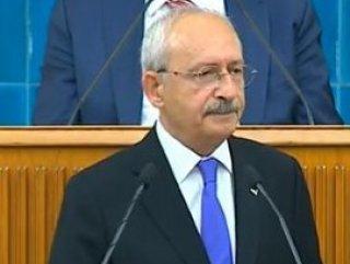 Kemal Kılıçdaroğlu CHP grup toplantısında açıklamalarda bulundu
