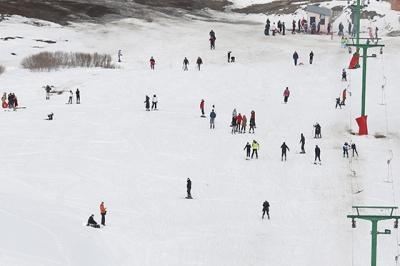 Kop Dağı kayak severleri ağırladı