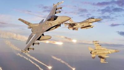 Kuzey Irak'ta terör hedefleri vuruldu