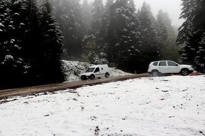 Mayıs Ayında Kar Yağışı Şaşkınlık Yaşattı