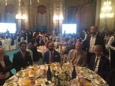 Meclis Başkanı İsmail Kahraman İstanbul'da İftar Yemeği Verdi