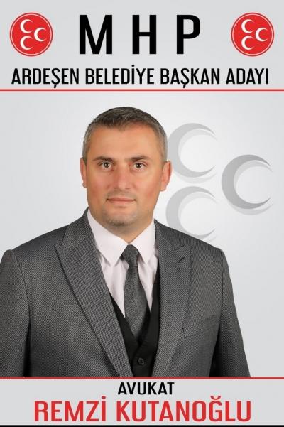 Mhp Ardeşen'de Avukat Remzi Kutanoğlu'nu Aday Gösterdi