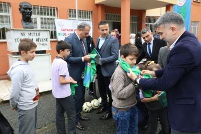 'MİNİK KALPLER OKUL-KULÜP' PROJESİ ÇAYELİ BÜYÜKKÖY'DE