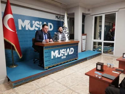 MÜSİAD Rize'de Tecrübe Paylaşım Toplantısı