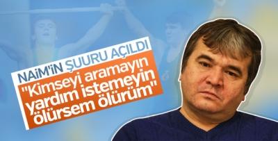 Naim Süleymanoğlu'nun şuuru açıldı