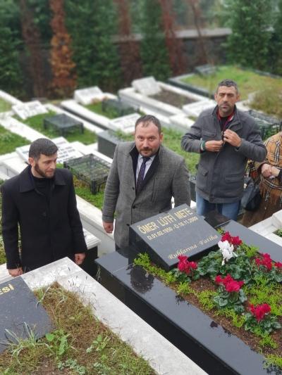 Ömer Lütfi Mete vefatının 9. yılında anıldı.Anma Programına Milliyetçi Hareket Partisi İyidere Belediye Başkan Aday Adayı Osman Mete'de Katıldı