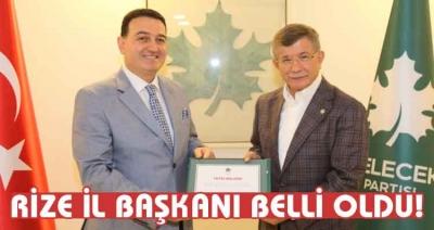 Osman Civelek Gelecek Partisi Rize İl Başkanı Olarak Atandı