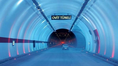 Ovit Tüneli 13 Haziran'da açılacak