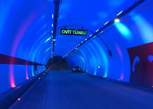 Ovit Tüneli Bakım Dolayısıyla 14 Ağustos'a Kadar Kısmen Trafiğe Kapatıldı