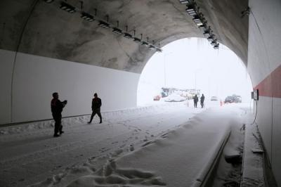 Ovit Tüneli Geçit Verdi Yol Ulaşıma Açık