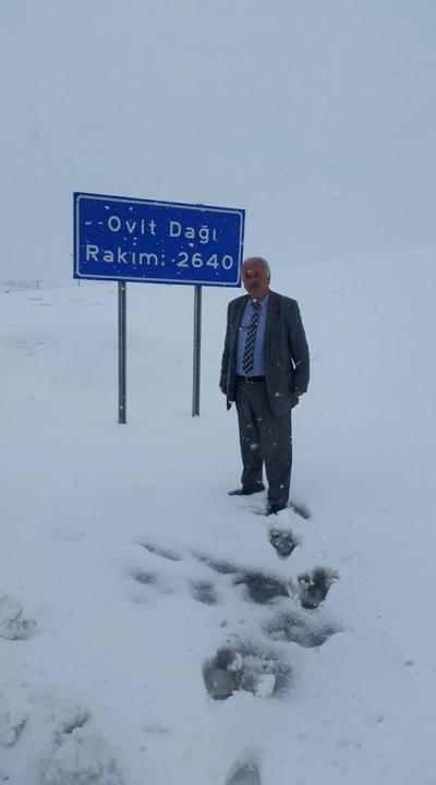 Ovit'te Kar Yağıyor