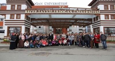 Recep Tayyip Erdoğan Üniversitesi Türkiye'nin ilk 50 üniversitesi arasına girdi
