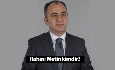 Rize Belediye Başkan Adayı Rahmi Metin kimdir?