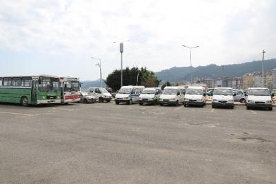 Rize Belediyesi 18 Aracı İhale Yoluyla Satışa Çıkardı