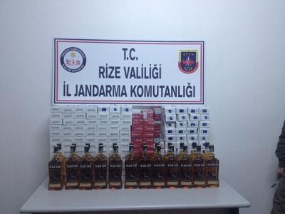 Rize İl Jandarma Komutanlığı kaçakçılara göz açtırmıyor