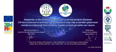 Rize Kadın Derneği Ve Rize Kentsel Gelişim Ve Araştırma Derneği Panel Ve Çalıştay Düzenleyecek