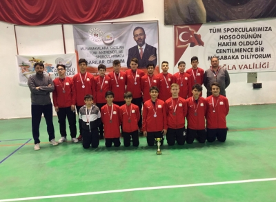 Rize Karması Hentbolda Türkiye 3.'sü Oldu