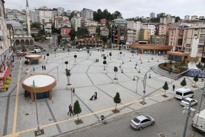 Rize Meydan Projesi Meyve Ağaçları Ve Çay Fidanları İle Donatıldı