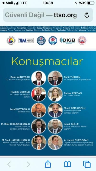 Rize Trabzon'da Yapılacak İpekyolu Zirvesinden Lojistik Müjdesini Bekliyor