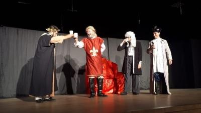 Rize Ülkü Ocaklarından 'Her Bizans'a Bir Fatih' adlı tiyatro oyunu