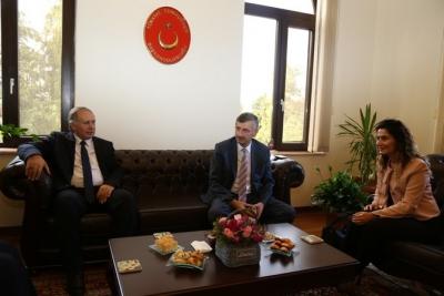 Rize ve Artvin Valileri Batum Başkonsolosu Koçak'ı Ziyaret Etti