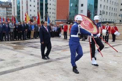 Rize'de 19 Eylül Gaziler Günü Programı Yapıldı