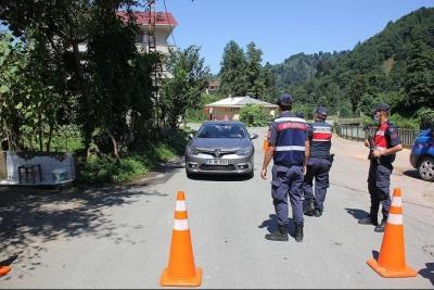 Rize'de 3 köyde karantina başladı