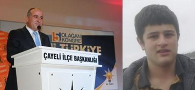 Rize'de AK Partili Eski Başkanın Oğlu Kazada Hayatını Kaybetti
