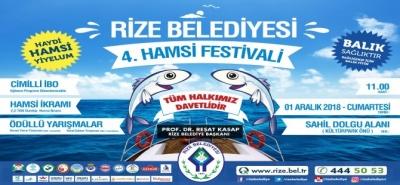Rize'de Hamsi Festivali Düzenlenecek