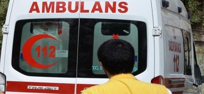 Rize'de İnşaattan Düşen İşçi Ağır Yaralandı