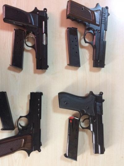 Rize'de kaçak silah atölyelerine operasyon