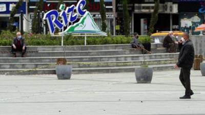 Rize'de Kovid-19 Tedbirleri Kapsamında Bir Haftada 5 Bin 756 Kişi Denetlendi
