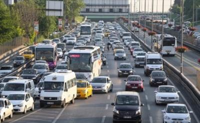 Rize'de Trafiğe Kayıtlı Toplam Araç Sayısı Belli Oldu
