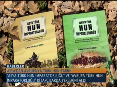 Rizeli Başmüfettişten İki Kitap Asya'dan Avrupa'ya Türk-Hun Tarihi