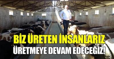 Rizeli Besici Hacıbey Şinaforoğlu: 'Üretmeye devam edeceğiz'