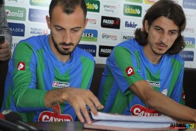 Rizespor'da 2 futbolcu süresiz kadro dışı
