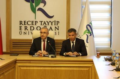 RTEÜ ile Milli Eğitim Müdürlüğü Arasında Eğitimde İşbirliği Protokolü İmzalandı