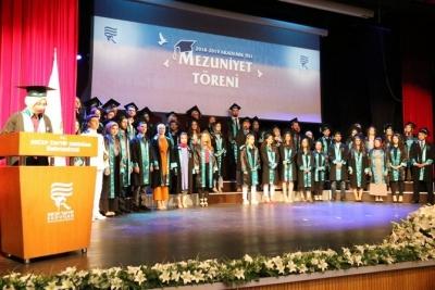 RTEÜ'de 13. Yıl Mezuniyet Coşkusu
