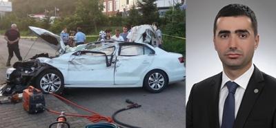 RTEÜ'lü Araştırma Görevlisi Kaza Yaptı: 1 Ölü, 3 Yaralı