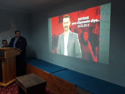 Şehit Fırat Yılmaz Çakıroğlu İçin İyidere'de anma programı