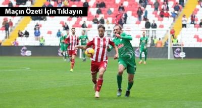 Sivasspor 1 - 1 Çaykur Rizespor Maç Özeti İzle